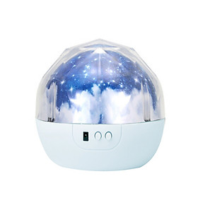 Night Light Projector Kids Children Bedroom 360° Rotating Planet Led Night Lighting Lamp Colorful Starry Universe Ocean