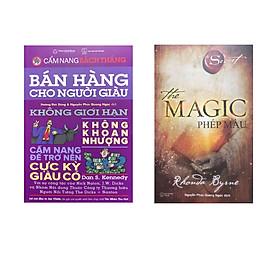 Combo - Bán hàng cho người giàu - không giới hạn ,không khoan nhượng (cẩm nang trở nên cực kỳ giàu có- cẩm nang bách thắng ) + The Magic - phép màu