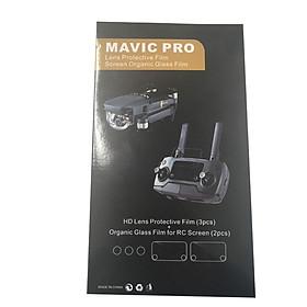 Miếng Dán Bảo Vệ (3 Lens + 2 Điều Khiển Từ Xa) KYOTSU King Wins Cho Máy Mavic Pro