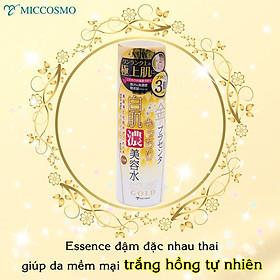 Tinh Chất Essence Đậm Đặc Nhau Thai Và Collagen Dưỡng Da Trắng Mịn Mờ Thâm Sạm Ngăn Ngừa Lão Hóa Từ Nhật Bản White Label Premium Placenta Rich Gold Essence-4