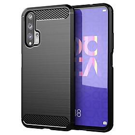 Ốp Lưng Chống Sốc Vân Cabon Dành Cho Điện Thoại Huawei Nova 5T