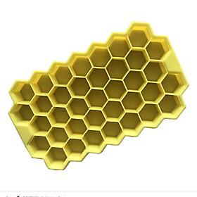 Khuôn silicon làm thạch, rau câu, socola, kẹo 37 ô hình tổ ong