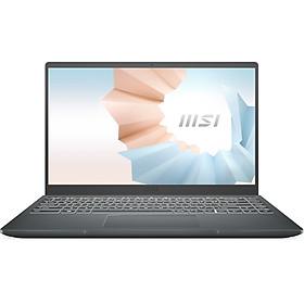 Laptop MSI Modern 14 B10MW-427VN (Core i3-10110U/ 8GB DDR4 3200MHz/ 256GB PCIe NVMe/ 14 FHD IPS/ Win10) - Hàng Chính Hãng