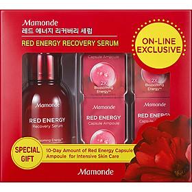 Bộ Tinh Chất Cung Cấp Năng Lượng Phục Hồi Cho Làn Da Rạng Rỡ Mamonde Red Energy Recovery Serum 50ml