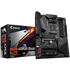 Bo mạch chủ Mainboard Gigabyte B550 AORUS ELITE AMD Socket AM4 - Hàng Chính Hãng