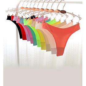 Combo 10 quần lót nữ lọt khe su đúc mịn mát, sexy - ZQ2541 (Màu ngẫu nhiên)