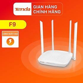 Thiết bị phát Wifi Tenda F9 Chuẩn N 600Mbps - Hàng Chính Hãng