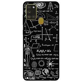 Ốp lưng dành cho Samsung Galaxy A21s mẫu Bảng Công Thức