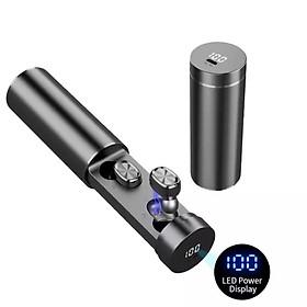 Tai nghe bluetooth 5.0 -Màn hình Led ,Vỏ hợp kim sang trọng,Chống ồn, chống nước - Kiểu dáng năng động,dễ mang theo bên mình