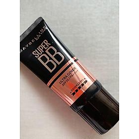 Kem Nền Maybelline Super BB Ultra Cream Cover SPF50 PA++++ 30ml Trang Điểm Hoàn Hảo PM711-8