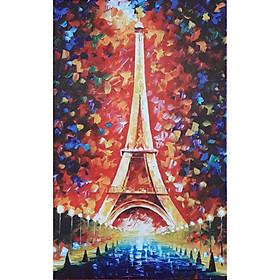 "Tranh in UV Canvas ""Tháp Eiffel lộng lẫy"""