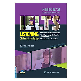 Ielts Listening-Skills And Strategies (Bộ Sách Ielts Mike) (Tặng kèm Booksmark)