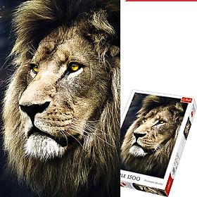 Tranh ghép hình TREFL 26139 - 1500 mảnh Chân dung Sư tử (jigsaw puzzle Tranh ghép hình chính hãng )