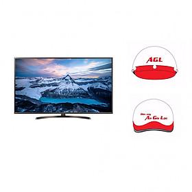 Smart Tivi LG 43 inch 4K UHD 43UK6340PTF - Hàng Chính Hãng + Tặng Kèm Mũ Bảo Hiểm An GIa Lộc