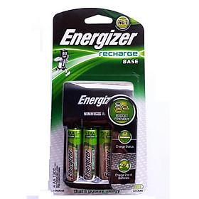 Máy sạc Pin  ENERGIZER CHVC4 (kèm 4 viên pin sạc AA 1300 mAh)
