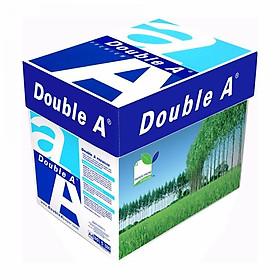Thùng 5 ram giấy A4 Double A 70gsm