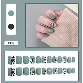 Bộ 24 móng tay giả nail thơi trang như hình (R-139)