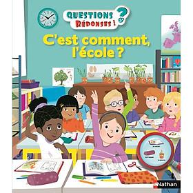 Sách thiếu nhi tiếng Pháp: C'Est Comment L'Ecole ? - Vol39