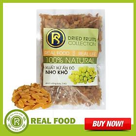 Túi Nho Khô Vàng REAL FOOD STORE (Nhiều lựa chọn)