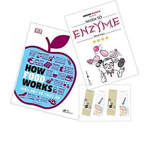 Combo How Food Works - Hiểu Biết Về Thức Ăn + Nhân Tố Enzim Minh Họa - Tặng Kèm Bookmark PD