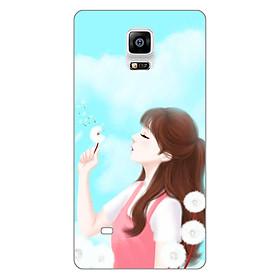 Hình đại diện sản phẩm Ốp lưng dẻo cho điện thoại Samsung Galaxy Note 4 _Girl 11