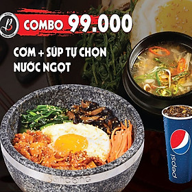 BUSAN  - Voucher 99k Cơm súp Áp dụng Busan Chi nhánh Đinh Tiên Hoàng