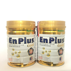 Combo 2 hộp Nuti Enplus Gold 900 Gr : sữa bổ sung dinh dưỡng hàng ngày cho người trưởng thành