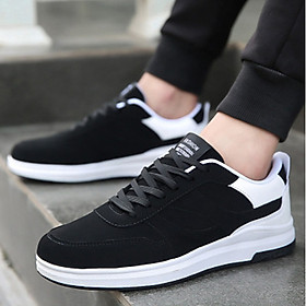 Giày thể thao phối trắng-đen Haint Boutique 141-0