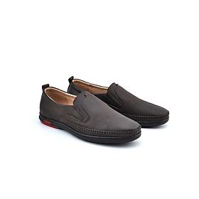Giày lười nam PABNO da bò thật cao cấp phong cách thời thượng lịch lãm - PN159