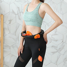 Adjustable Spinning Waist Hoop with Counter Smart Counting Waist Hoop for Waist Slimming Exercise-7