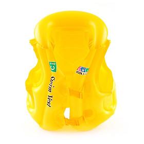 Áo phao bơi trẻ em ABC (bé từ 8-15 tuổi), chất liệu nhựa dẻo PVC an toàn - POKI
