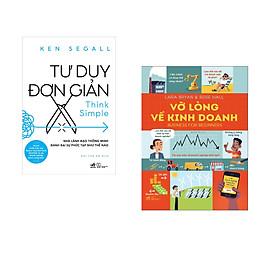 Combo 2 cuốn sách: Tư duy đơn giản - Nhà lãnh đạo thông minh đánh bại sự phức tạp như thế nào + Vỡ lòng về kinh doanh