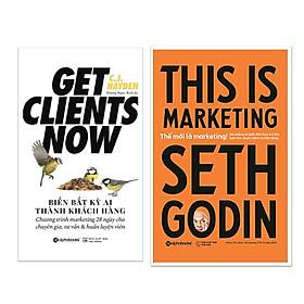 Combo Sách Kinh Doanh Marketing: Biến Bất Kỳ Ai Thành Khách Hàng  +Thế Mới Là Marketing