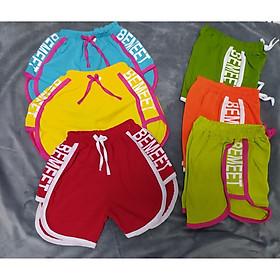 set 2 quần đùi thể thao bé gái