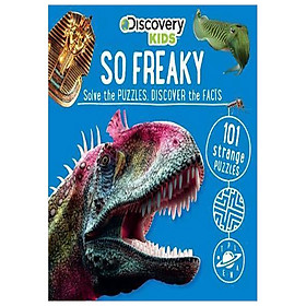 So Freaky! Puzzle Book