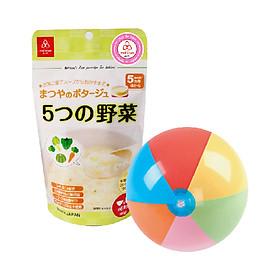 Cháo gạo koshihikari ăn dặm Matsuya - tặng đồ chơi bóng hơi