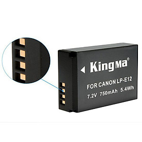 Pin máy ảnh KingMa LP-E12 - Hàng chính hãng