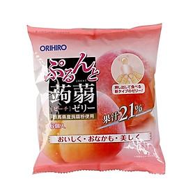 Thạch trái cây Orihiro vị đào 120g