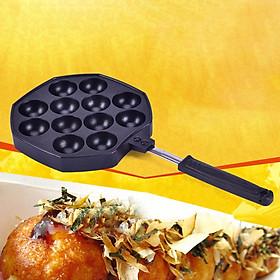 Aluminum Alloy Pan Takoyaki Maker Octopus Small Balls Baking Pan Home Cooking Tools Kitchenware