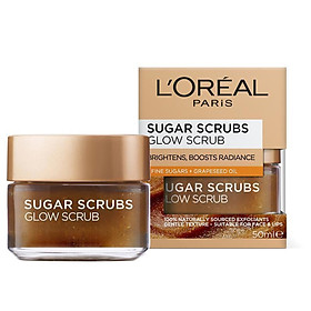 L'Oreal Paris Smooth Sugar Glow Scrub 50ml