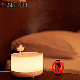 Uareliffe Aroma Diffuser Ultrasonic Mini Musiical Aromatherapy Humidifier 260ml Oil Diffuser Atomizer Humidificador 3 Speeds Timing Function 2 Gears Of Fog Adjustable Water Mist Maker Essential Air Purifier With LED Night Light For Bedroom Office Home Use