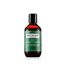 Sữa Rửa Mặt Dạng Gel Làm Sáng Da Antipodes Juliet Skin-Brightening Gel Cleanser 200ml