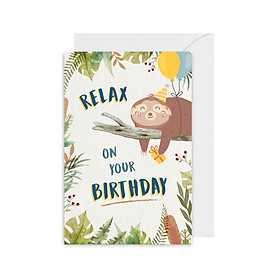Thiệp chúc mừng sinh nhật Birthday - Relax Fairy Corner