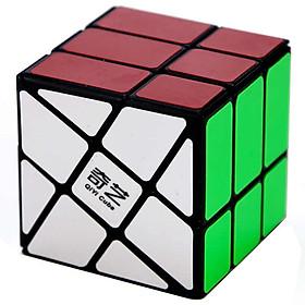 Rubik biến thể QiYi 3x3 Windmill Black hiệu QiYi