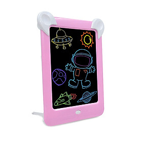 Drawing Handwriting Pad Magic Drawing Pad LED Writing Board Luminous Drawing Board Draw Tracing with LED Light Effects