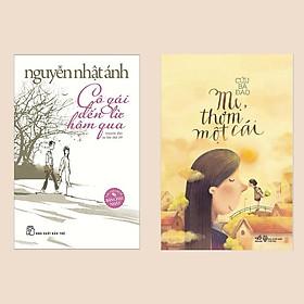 Combo Sách Văn Học Đặc Sắc: Cô Gái Đến Từ Hôm Qua + Mẹ, Thơm Một Cái (Bộ 2 Cuốn Truyện Dài Về Cuộc Sống Thường Nhật)