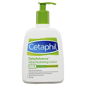 Cetaphil Daily Advance Ultra Hydrating Lotion 473ml