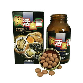 Viên uống tinh chất hàu tỏi nghệ Orihiro Nhật Bản giúp bổ gan, tăng cường hệ miễn dịch, hỗ trợ sinh lý, 180 viên/hộp - HÀNG CHÍNH HÃNG
