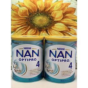 Combo 2 hộp Sữa Bột Nestlé NAN Nga Optipro 4 (800g) 18-24 tháng