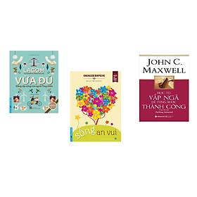 Combo 3 cuốn sách: Vừa Đủ - Đẳng Cấp Sống Của Người Thụy Điển + Sống An Vui + Học từ vấp ngã để từng bước thành công